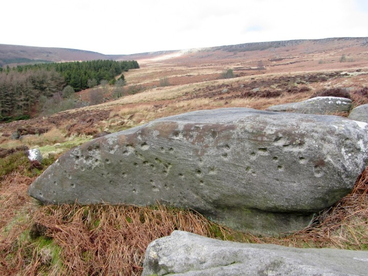Boulder in the Burbage Basin