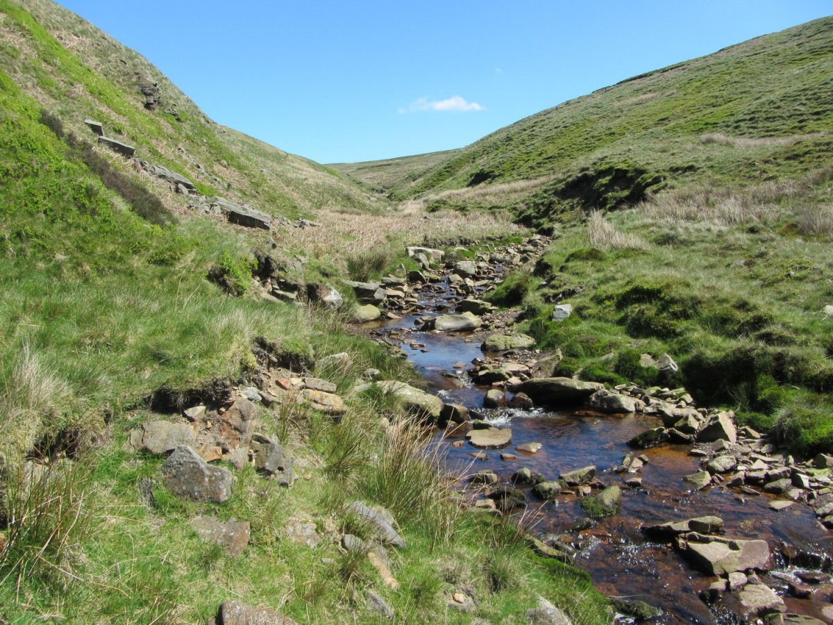 Crowden Little Brook, Black Hill