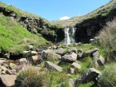 Watyerfall on Crowden Little Brook