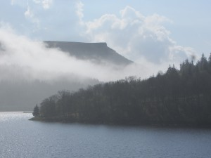 Ladybower Reservoir and Bamford Edge