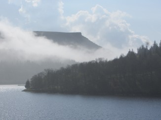 Ladybower Reservoir and Bamford Edge