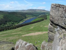 Ladybower Reservoir from Crook Hill