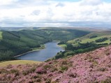 Ladybower Reservoir from Whinstone Lee Tor
