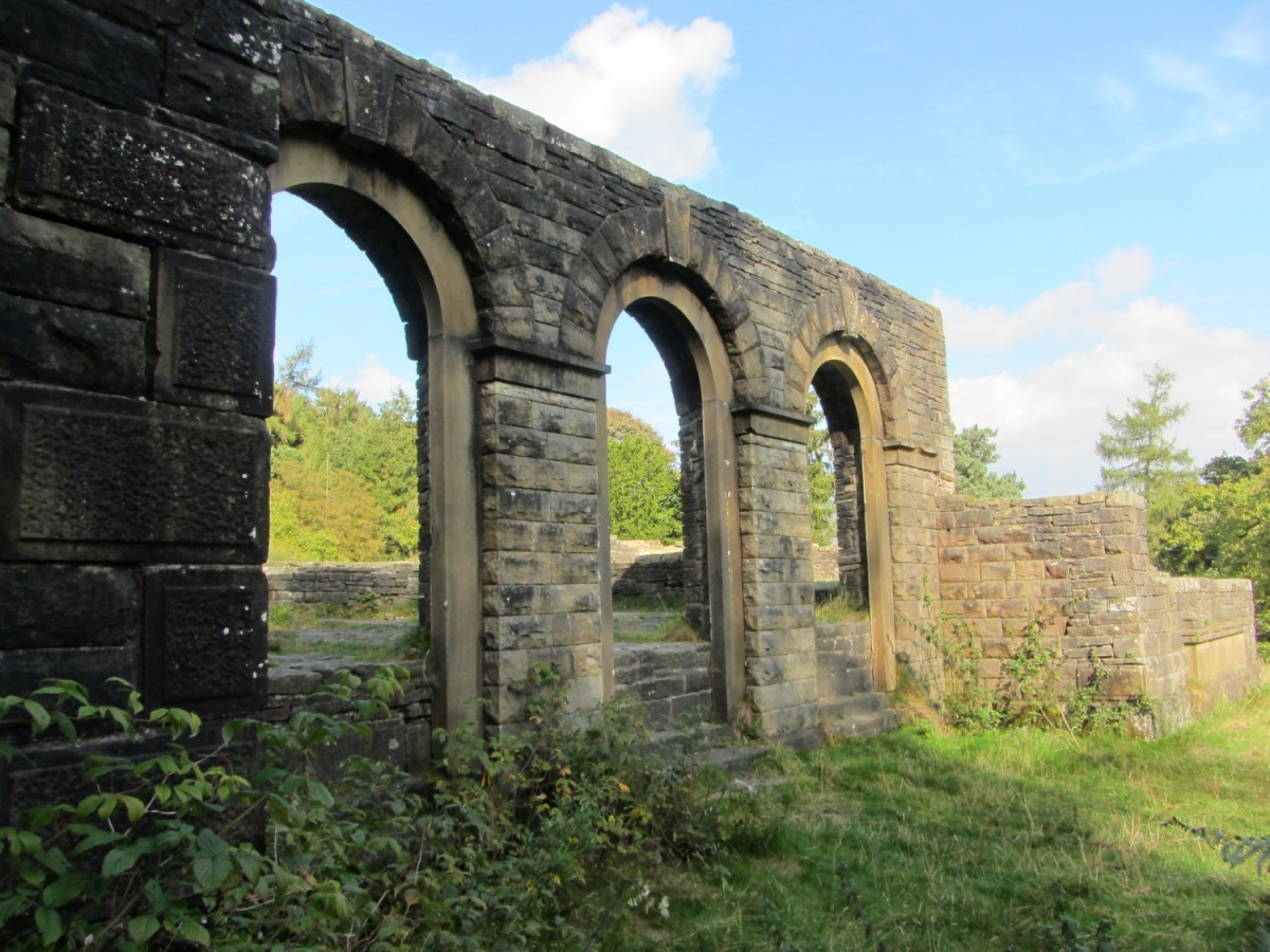 Ruins of Errwood Hall