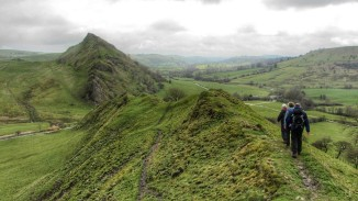 View towards Parkhouse Hill from Chrome Hill